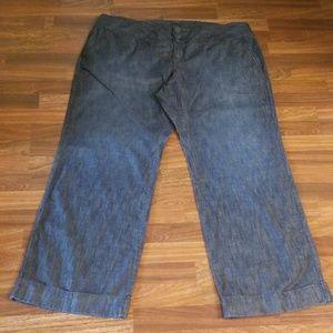 Old Navy Denim Wide Leg Jeans Sz.22 Tall